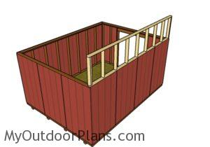 fitting-the-top-back-wall-frame
