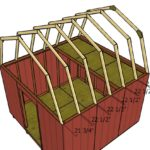 12×12 Gambrel Shed Roof Plans