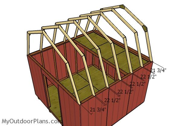12x12 Gambrel Shed Roof Plans