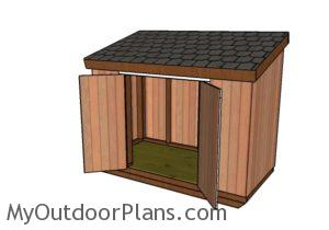 how-to-build-a-short-shed-with-a-lean-to-roof