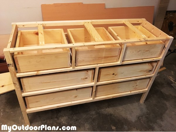 making-the-drawers