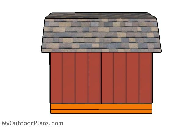 short-gambrel-shed-side-view