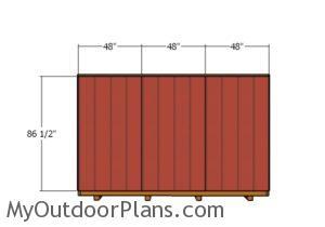 sidding-to-the-narrow-back-wall