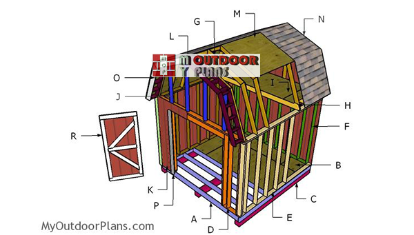 Building-a-12x12-barn-shed