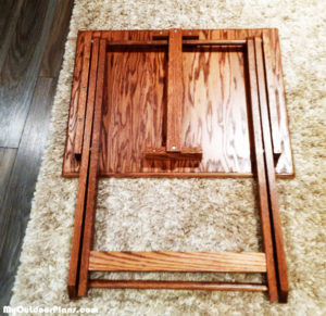 Building-a-TV-folding-tray