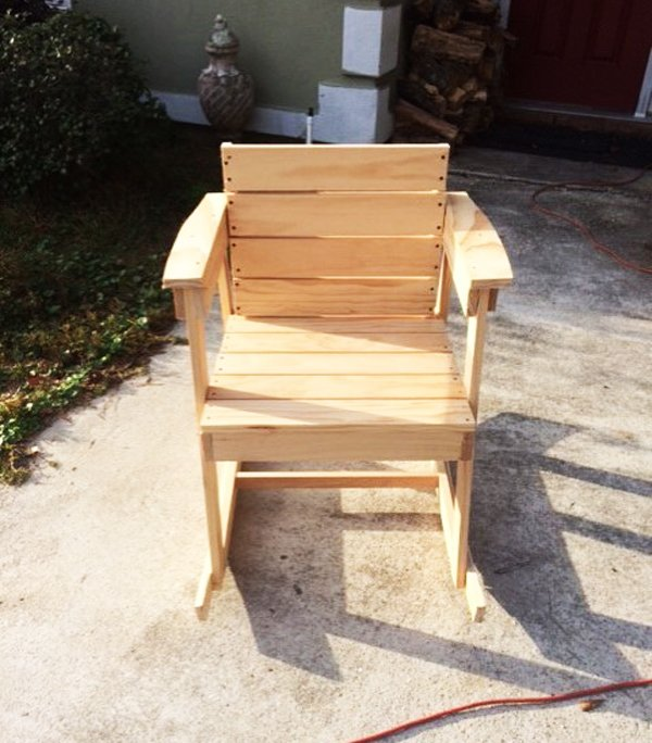100 How To Build A Wooden Rocking Chair Reclaimed Wood Spoo