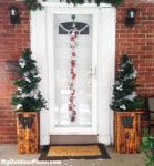 DIY Christmas Tree Planter Boxes