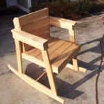 DIY Wood Rocking Chair