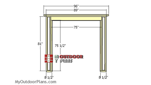 Side-wall-frame-with-door