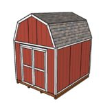 10×12 Barn Shed Plans