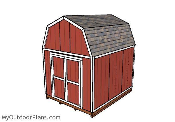 10s12 Barn Shed Plans | MyOutdoorPlans | Free Woodworking Plans and Projects, DIY Shed, Wooden Playhouse, Pergola, Bbq
