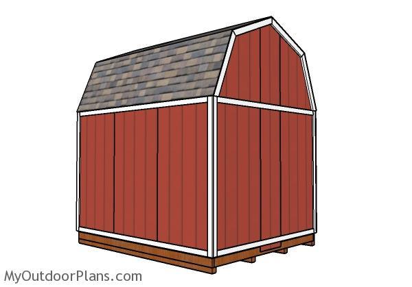 10x12 Gambrel Shed Roof Plans Myoutdoorplans Free