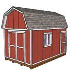 10×16 Barn Shed Door Plans