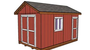 10×16 Garden Shed Plans