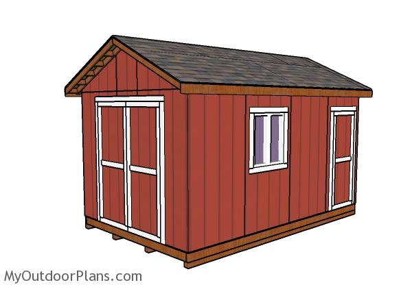 10x16 Shed Plans