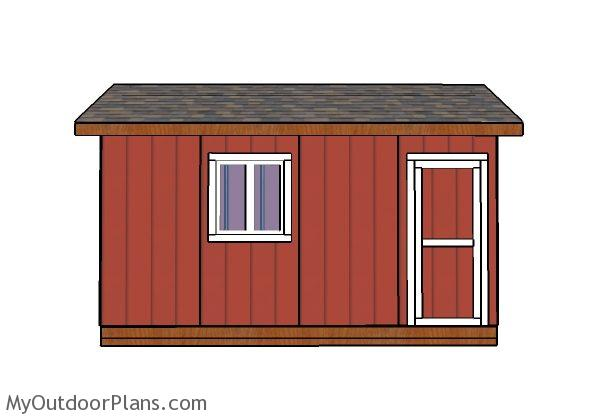 Do It Yourself Home Design: 10x16 Shed Doors Plans