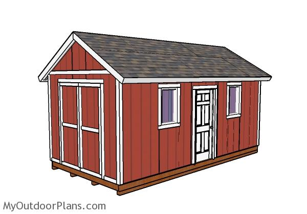 Outdoor Storage Shed Plans