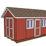 10×20 Shed Plans