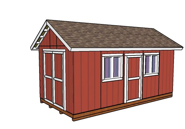 10x20 Shed Plans Myoutdoorplans Free Woodworking Plans And