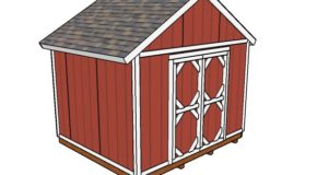 12×10 Shed Plans