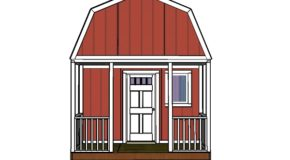 Small Cabin Railings and Trims Plans