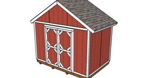 12×8 Shed Plans