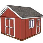 14×14 Shed Plans