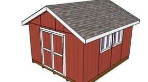 14×16 Shed Plans