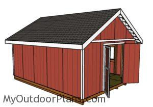 16x20 Shed Plans Free