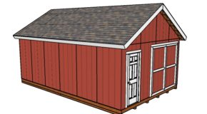 16×24 Shed Plans