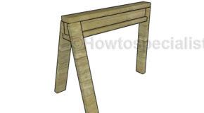 3 Leg Sawhorse Plans