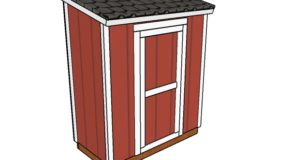 3×6 Lean to Shed Plans