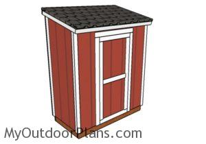 3x6 Shed Plans
