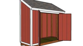 4×10 Shed Plans