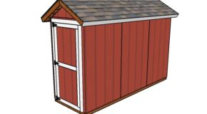 4×12 Shed Plans