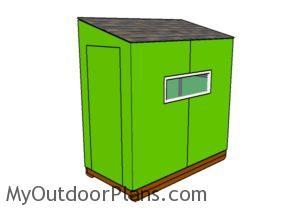 4x8 Ice shanty Plans