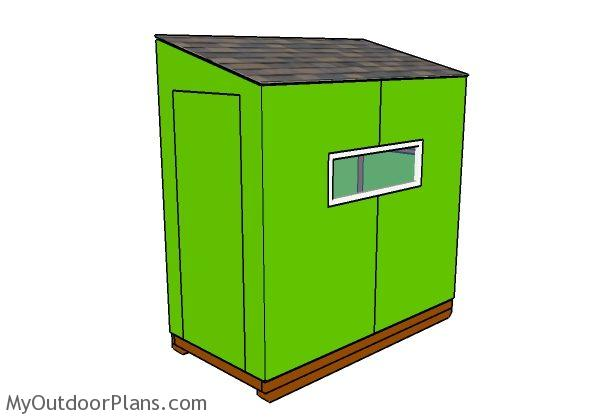 Do It Yourself Home Design: 4x8 Ice Shack Plans