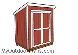 5x7 Shed Plans