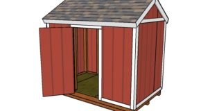 6×10 Shed Plans