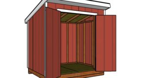 6×8 Lean to Shed Plans