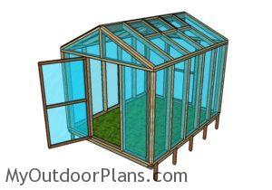 8x10 Greenhouse Plans