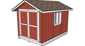 8×12 Shed Plans