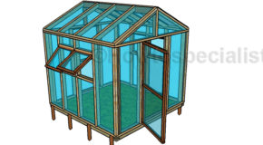 8×8 Greenhouse Plans