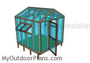 8x8 Greenhouse Plans