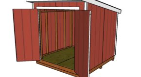 8×8 Lean to Shed Plans