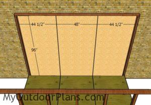 Attached walls - OSB