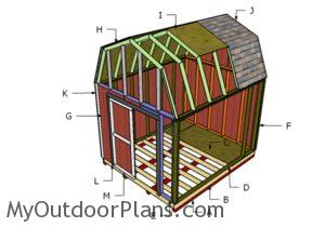 Building a 10x12 barn shed