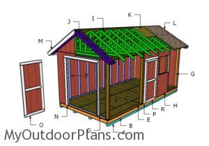 Building a 10x20 shed