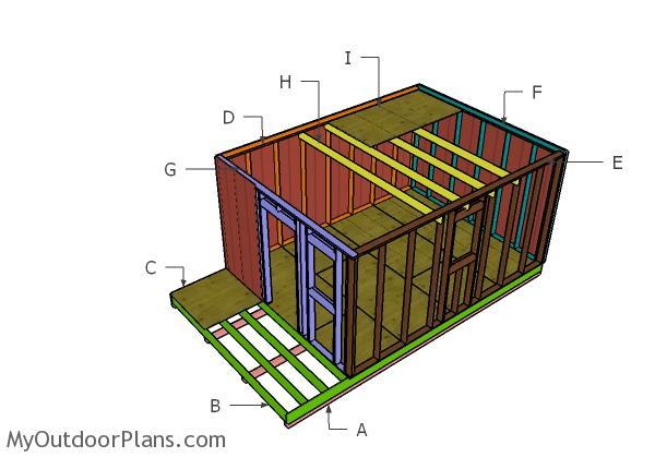 Small Cabin Plan Build Yourself Small Cabin Building Plans: 12x20 Small Cabin Plans
