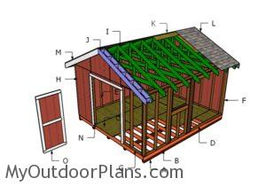 Building a 14x16 shed